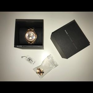 Rose gold Marc Jacobs watch W/ TAGS
